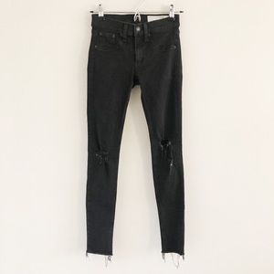 rag & bone/JEAN Legging in Night Distressed 24